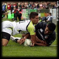 Leicester Tigers Ospreys ManuTuilagi try