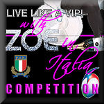 Live Like A VIP Italy competition