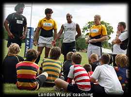 London Wasps coaching