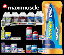 Maxinutrition products