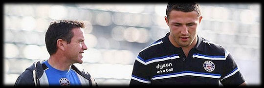 Mike Ford Sam Burgess Bath Rugby