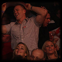 Mike Tindall Zara Phillips Darts