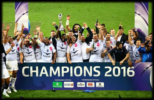 Montpellier Challenge Cup Winners 2016