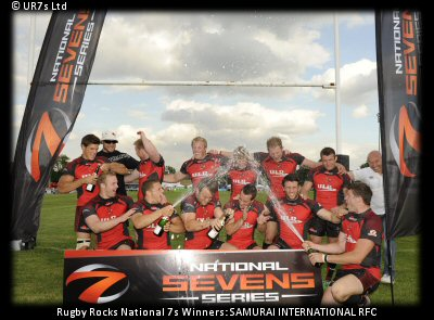 National 7s Series Winners: Samurai