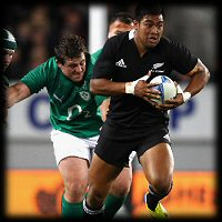 New Zealand Ireland 1st Test Julian Savea