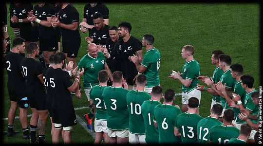 New Zealand v Ireland QF2 Rory Best The End RWC2019