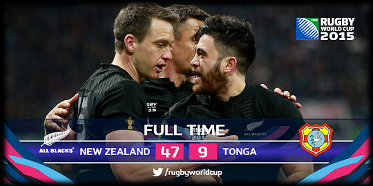 New Zealand v Tonga
