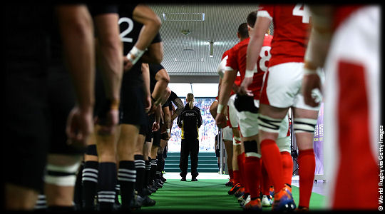 New Zealand v Wales The Tunnel RWC2019 Bronze Final