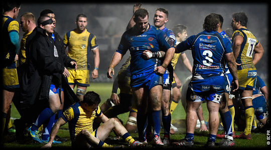 Newport Gwent Dragons Enisei STM
