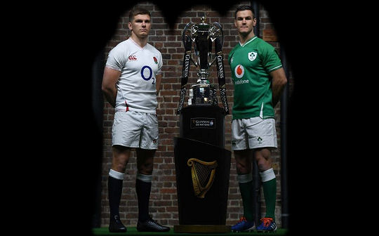 Owen Farrell Johnny Sexton 6Ns 2020