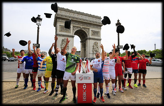 Paris 7s Captains 2017
