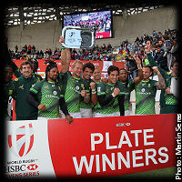 Paris 7s South Africa Plate Winners 2016