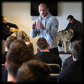 Paul Gustard Saracens The Wolfpack