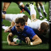 QF2 England v France Vincent Clerc try