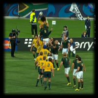 QF4 South Africa v Australia lineout