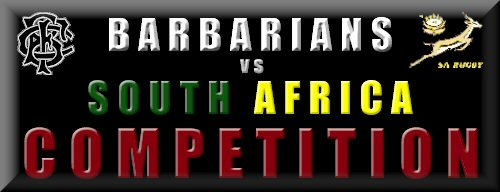Barbarians vs South Africa Competition