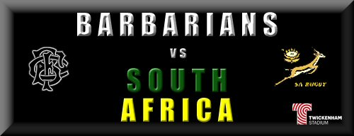 Barbarians vs South Africa
