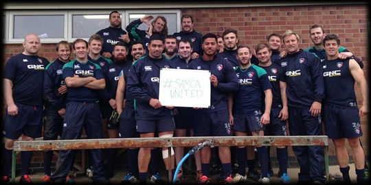 SamoaUnited Leicester Tigers