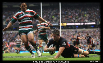 Guinness Premiership Final 2010 Saracens' Try