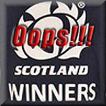 Scotland CC Winner T Shirt
