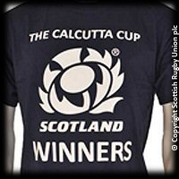 Scotland Calcutta Cup Winner T-Shirt