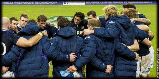 Scotland team RBS 6 Nations 2015
