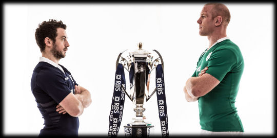 Scotland v Ireland head to head RBS 6 Nations 2015