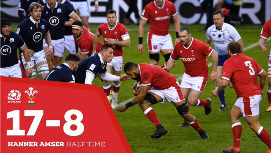 Scotland v Wales HT 6Ns 2021