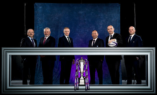 Six Nations Launch 2018 Coaches