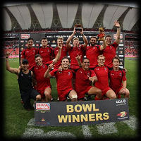 South Africa 7s Canada Bowl Winners 2014