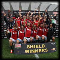 South Africa 7s Portugal Shield Winners 2014