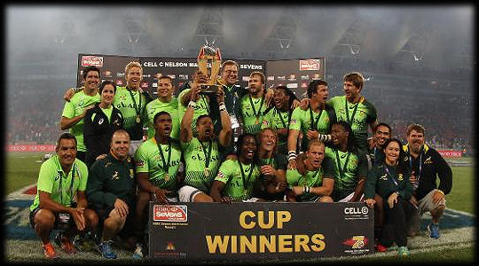 South Africa 7s South Africa Cup Winners 2014