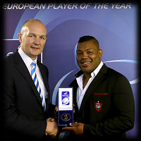 Steffon Armitage 2014 European Player of the Year