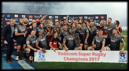 Super Rugby Final 2017 Crusaders Winners