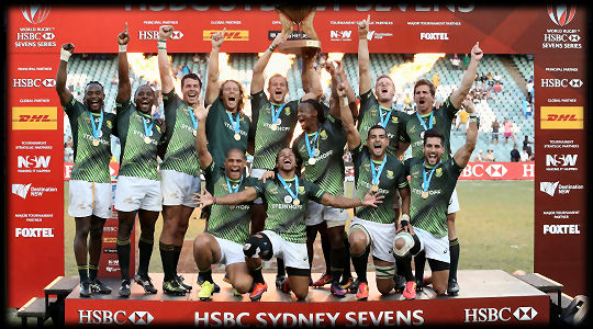 Sydney 7s Cup Winners South Africa 2017