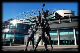 Twickenham Stadium South Stand statue