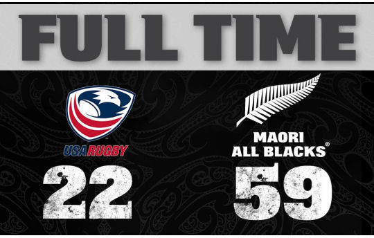 USA Rugby v Maori All Blacks FT