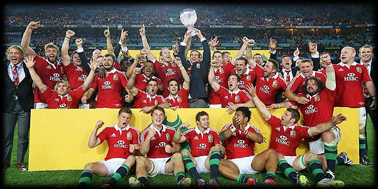 Victorious British Lions 2013