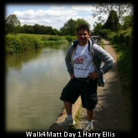Walk4Matt Harry Ellis