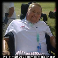 Walk4Matt Day 4 Tring CC Matt Hampson