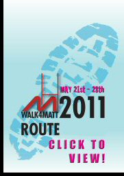 Walk4Matt Route