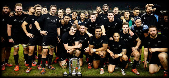 Wales All Blacks winners