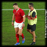 Wales v South Africa George North injured RWC2019
