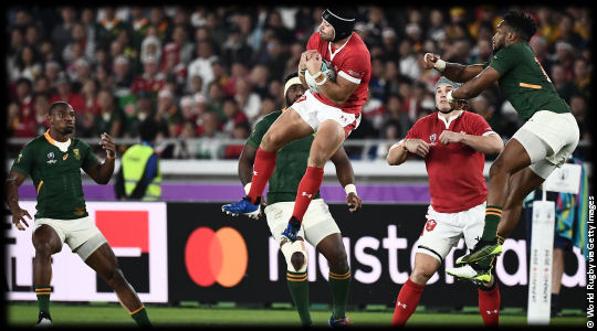 Wales v South Africa Leigh Halfpenny RWC2019