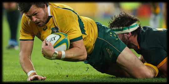 Wallabies Springboks Adam Ashley Cooper try TRC 2015