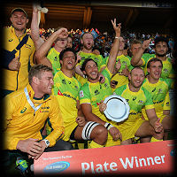 Wellington 7s 2016 Australia Plate winners