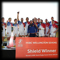 Wellington 7s 2016 France Shield winners