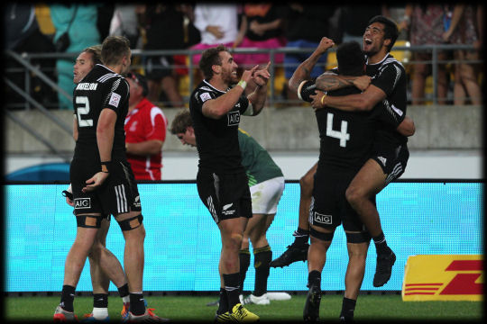 Wellington 7s 2016 New Zealand Cup winners