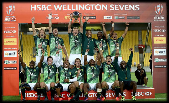 Wellington 7s Cup Winners South Africa 2017
