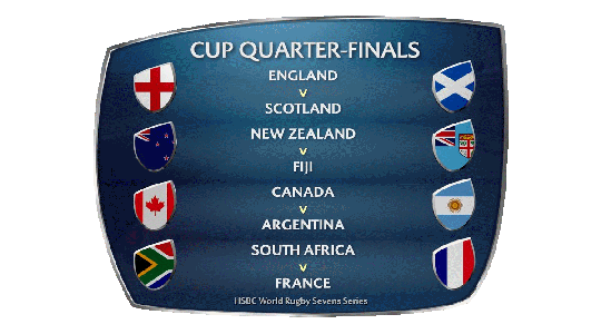 Wellington 7s Quarter Finals 2017